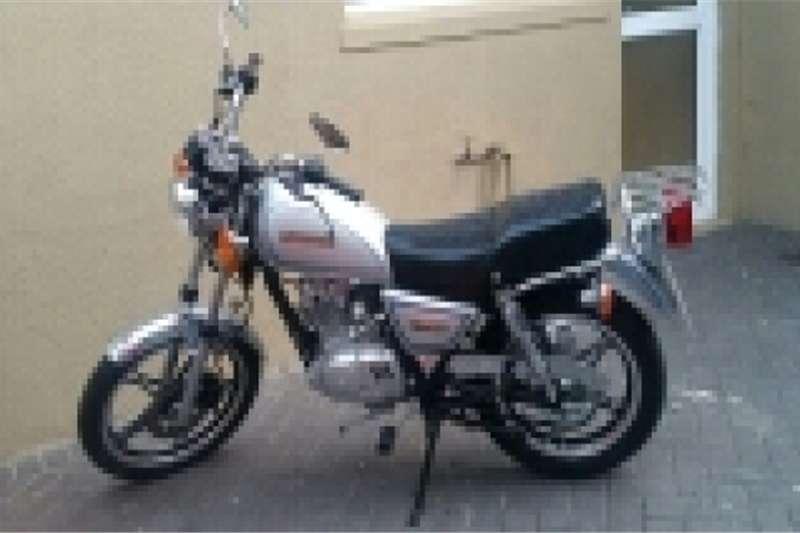 Suzuki motorbike 2014