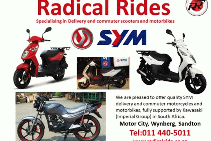 Sym Motorcycles and Scooters 0
