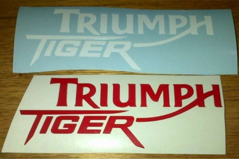Triumph Tiger decals stickers graphics sets 0