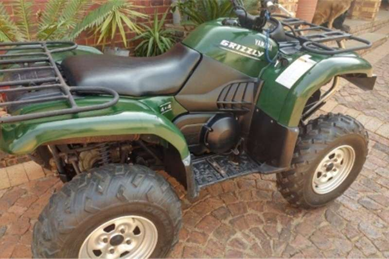 Yamaha Grizzly 4x4 Quad 0