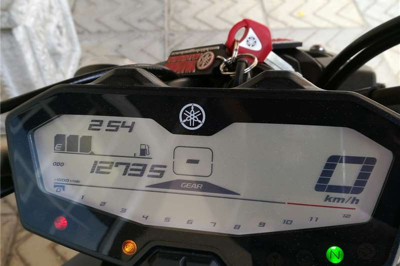 Yamaha MT-01 MT-07 2016
