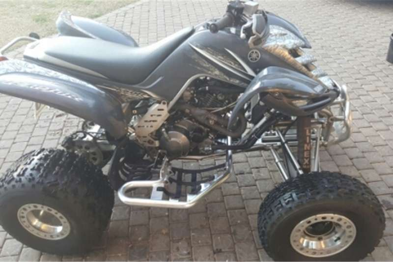 Yamaha Raptor 660 with papers 2005