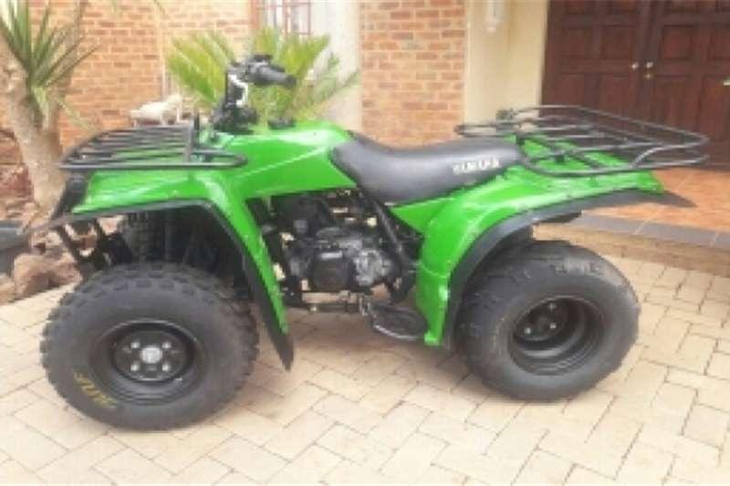 Yamaha Warrior 250cc 2x4 0