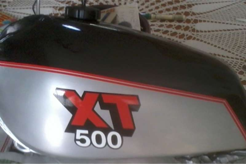 Yamaha XT 500 tank and side panel decals stickers graphics k 0