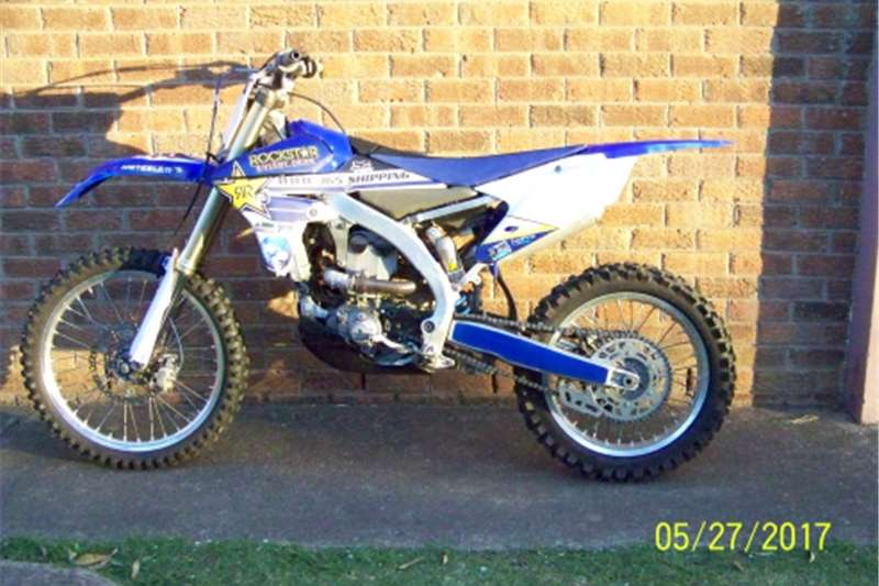 Yamaha YZ250FFuel Injection 2014