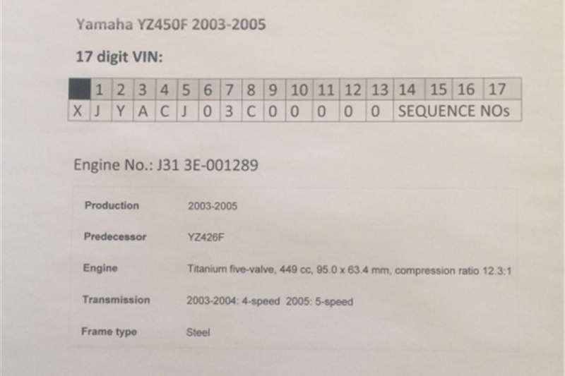 Yamaha YZ450F (2003 2005) Titanium Five Valve Carburetor Assembl 0