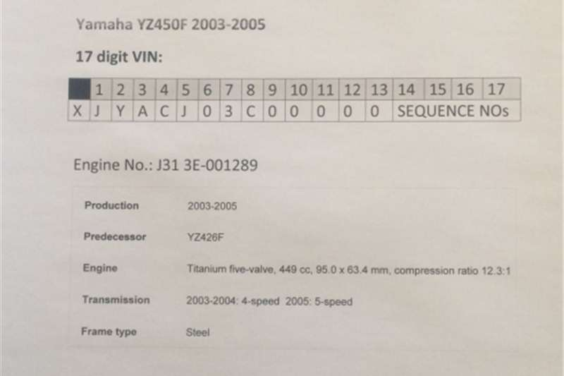Yamaha YZ450F (2003 2005) Titanium Five Valve Intake Manifold 0