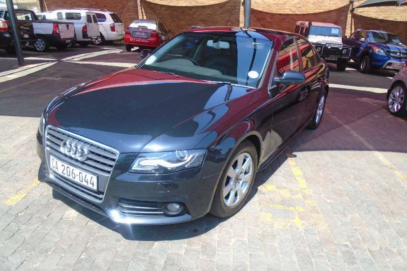 Audi A4 2.0TDI Efficiency Ambition 2012