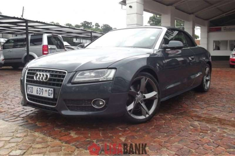 audi a5 2 0 tfsi cabriolet cars for sale in gauteng r. Black Bedroom Furniture Sets. Home Design Ideas