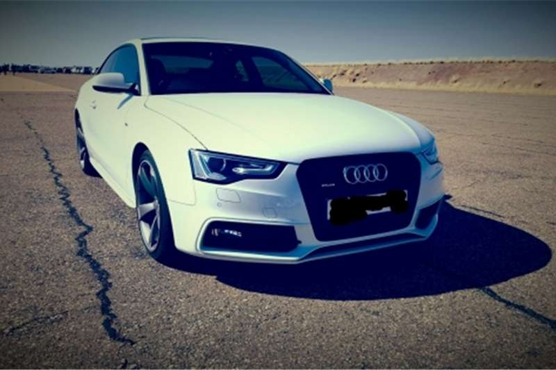 Audi a5 tfsi quattro s line coupe black edition cars for sale in gauteng r 440 000 on auto mart - Audi a5 coupe s line black edition for sale ...