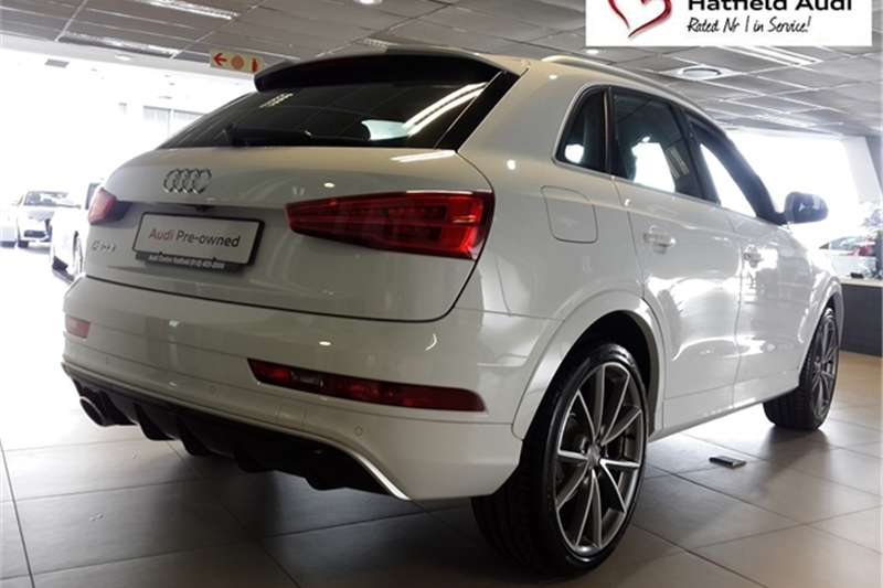 2016 audi q3 rs quattro crossover suv petrol awd automatic cars for sale in gauteng. Black Bedroom Furniture Sets. Home Design Ideas
