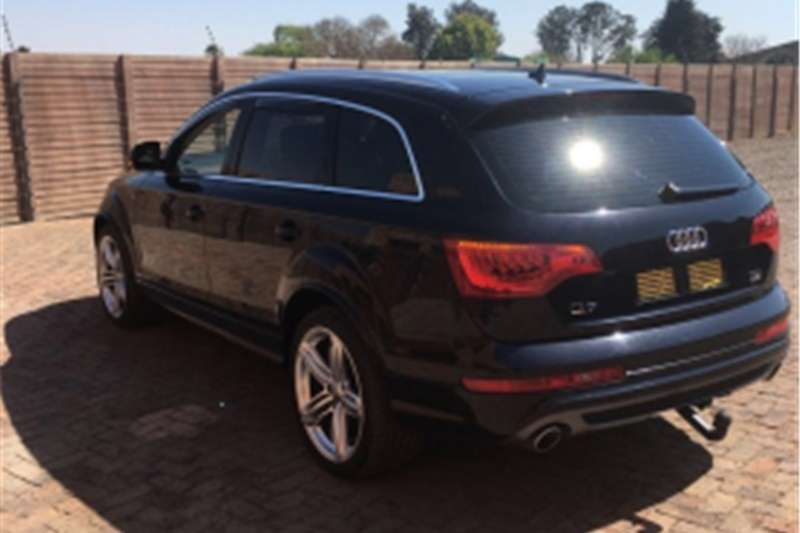 2010 audi q7 4 2 v8 tdi only 78 000km black s line cars for sale in mpumalanga r 450 000 on. Black Bedroom Furniture Sets. Home Design Ideas