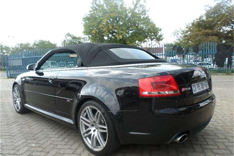 2007 audi rs4 quattro cabriolet cars for sale in gauteng r 219 950 on auto mart. Black Bedroom Furniture Sets. Home Design Ideas
