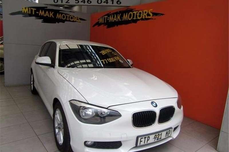 BMW 1 Series 116i 5-door 2012