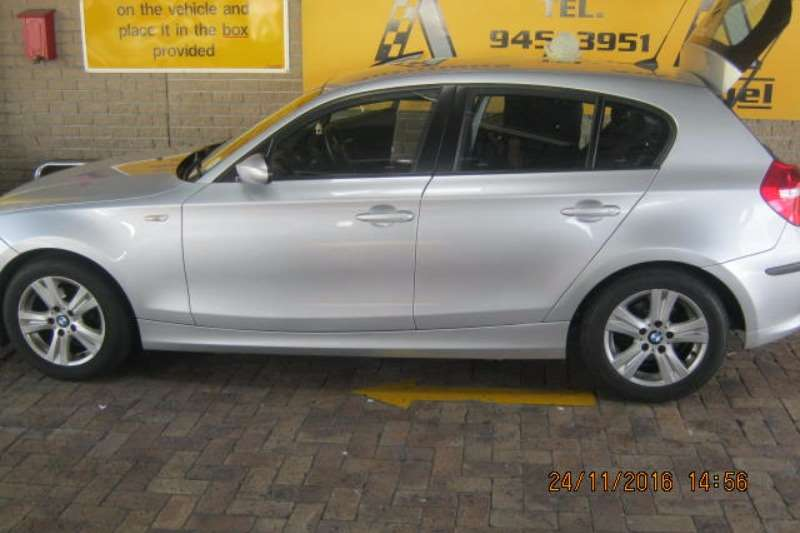 BMW 1 Series 116i 5-door auto 2008
