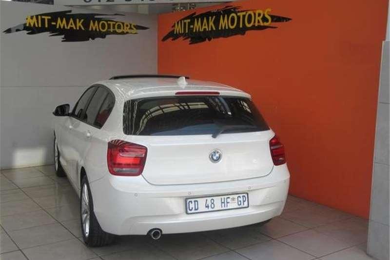 BMW 1 Series 118i 5-door auto 2012