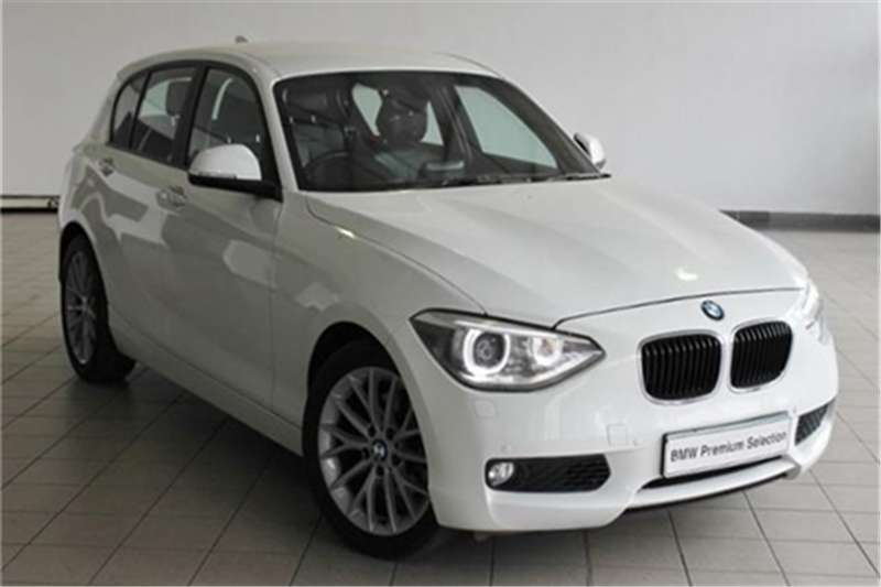 BMW 1 Series 120d 5-door auto 2012