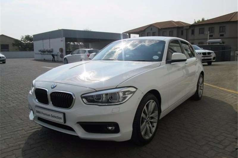 BMW 1 Series 120d 5-Door Auto 2017