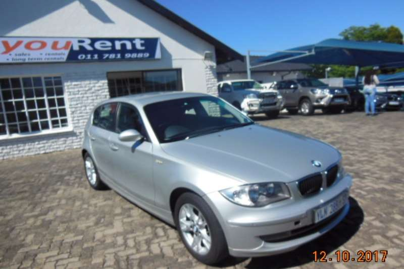 BMW 1 Series 120d 5 door steptronic 2009