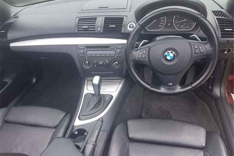 BMW 1 Series 125i convertible M Sport auto 2012