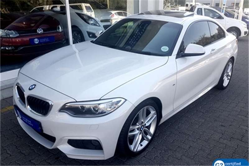 BMW 2 Series 220d coupe M Sport auto 2014