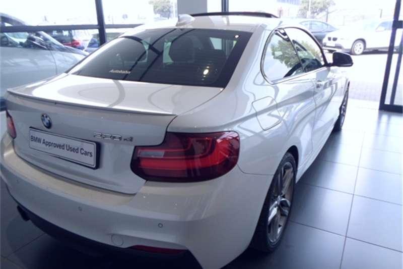 BMW 2 Series 220d coupe M Sport auto 2015
