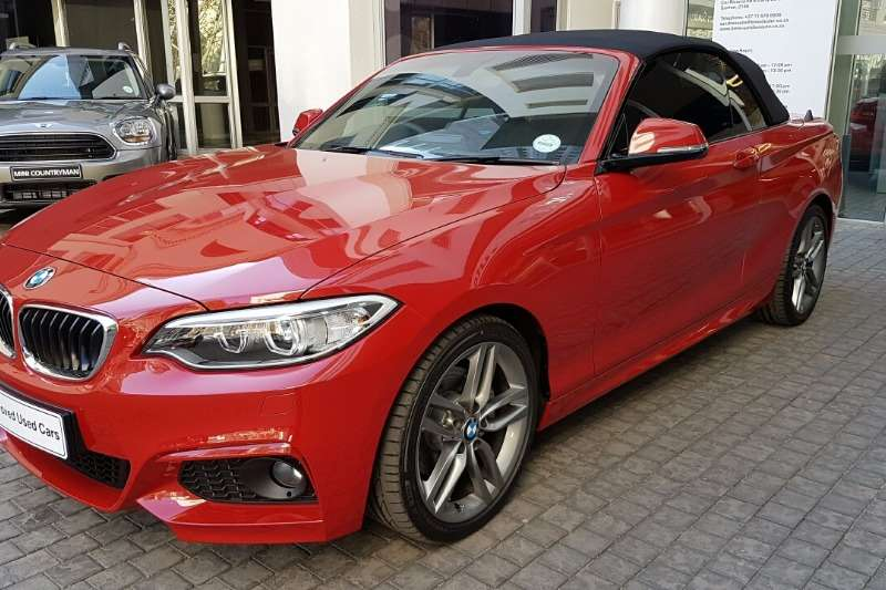 BMW Series I Convertible M Sport Auto Convertible - 220i bmw