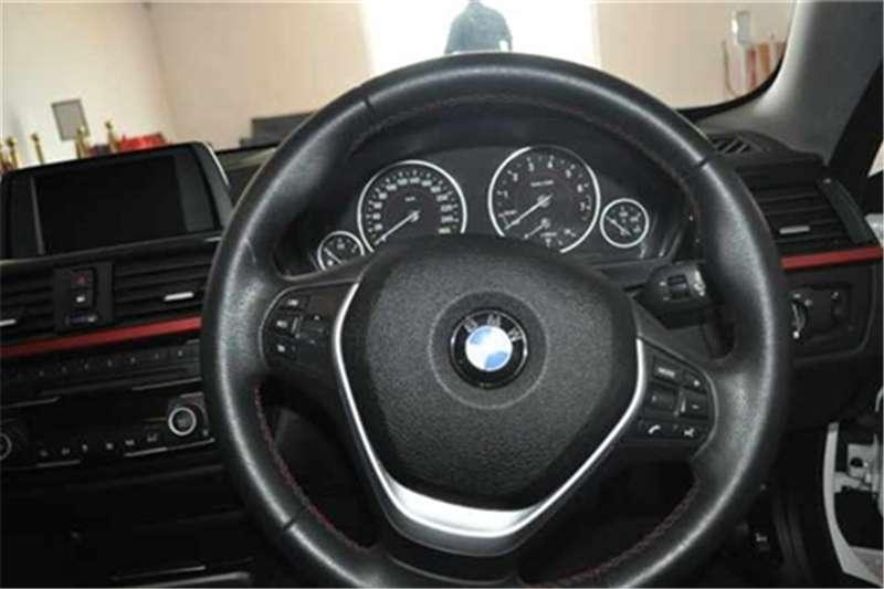 BMW 4 Series 420i coupe Sport auto 2015