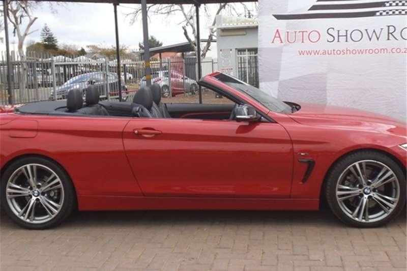 BMW 4 Series 428i convertible Sport auto 2014