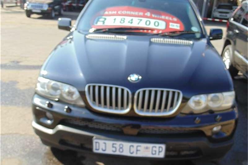 BMW 5 Series BMW X5 4.4 2006