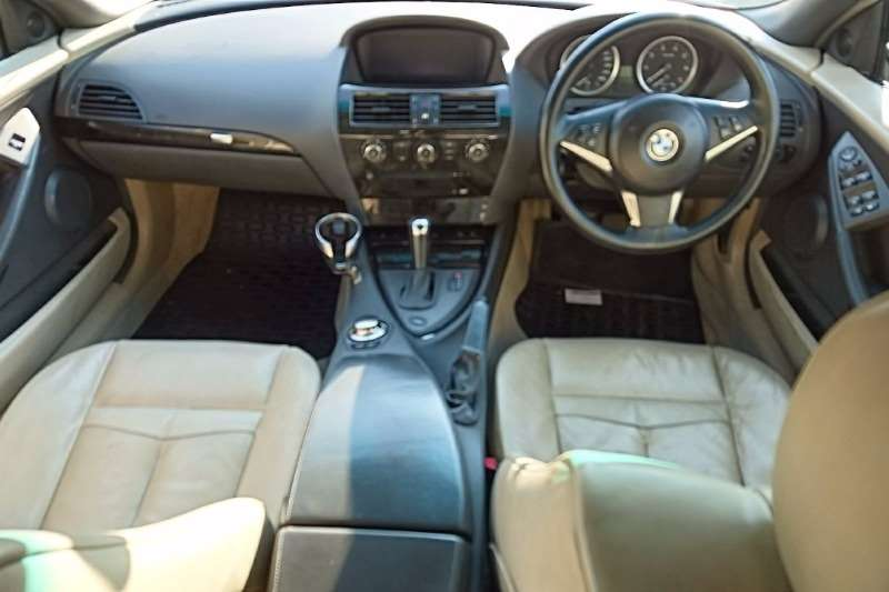 BMW 6 Series 645Ci convertible steptronic 2005