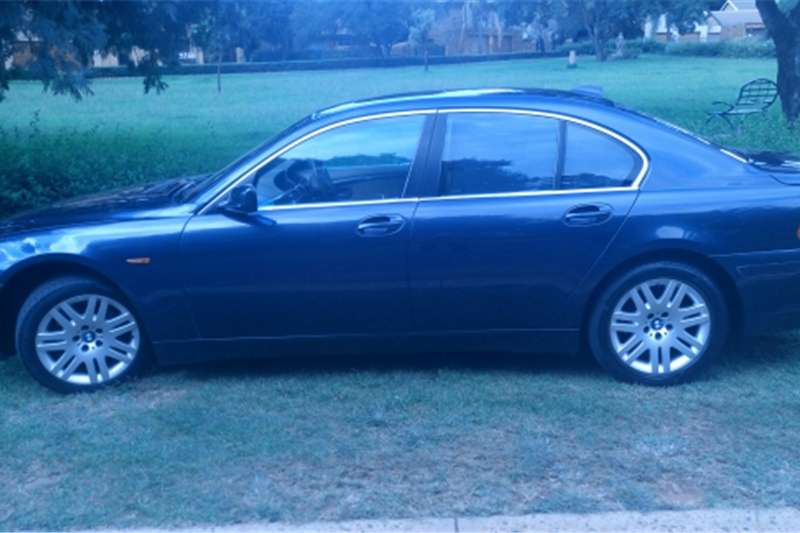 2004 bmw 7 series individual 6spd auto e65 cars for sale. Black Bedroom Furniture Sets. Home Design Ideas