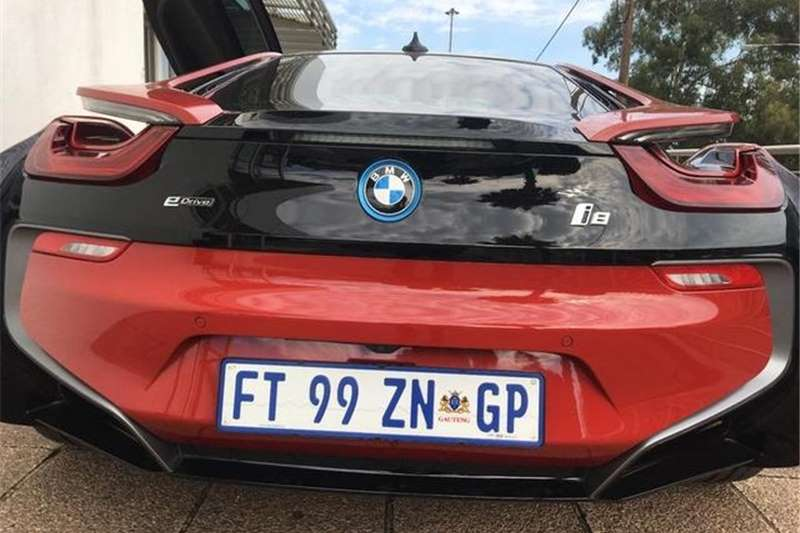 BMW I8 eDrive Coupe Protonic Red Edition 2017