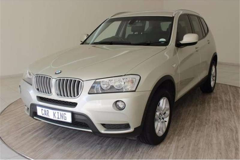 BMW X series SUV X3 xDrive30d 2011