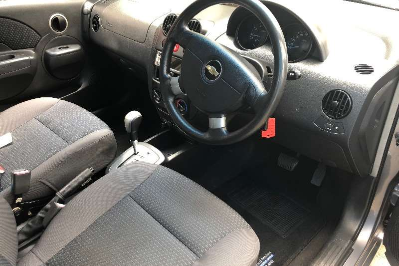 Chevrolet Aveo 1.6 LS hatch automatic 2008