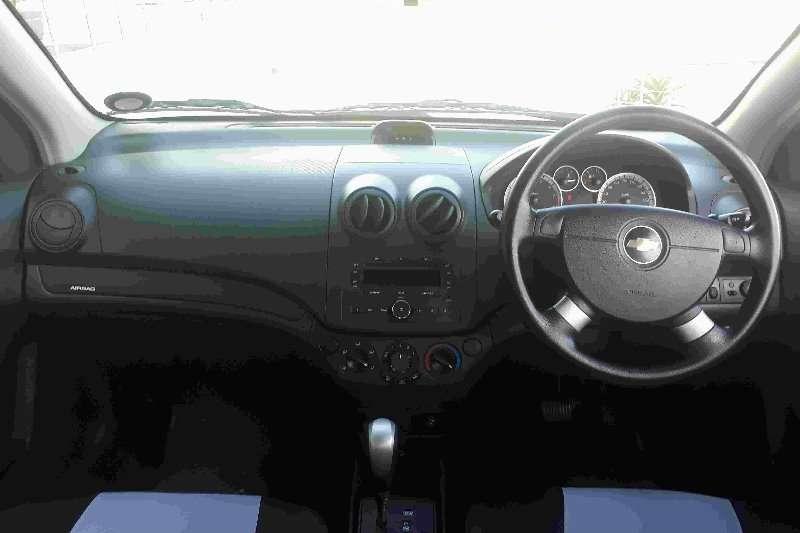 Chevrolet Aveo 1.6 LS sedan automatic 2012