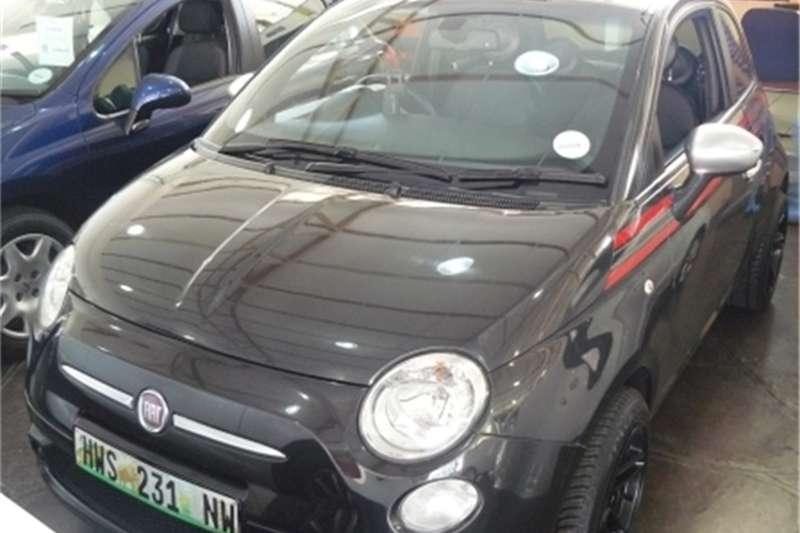 Fiat 500 1.4 Matt Black 2012