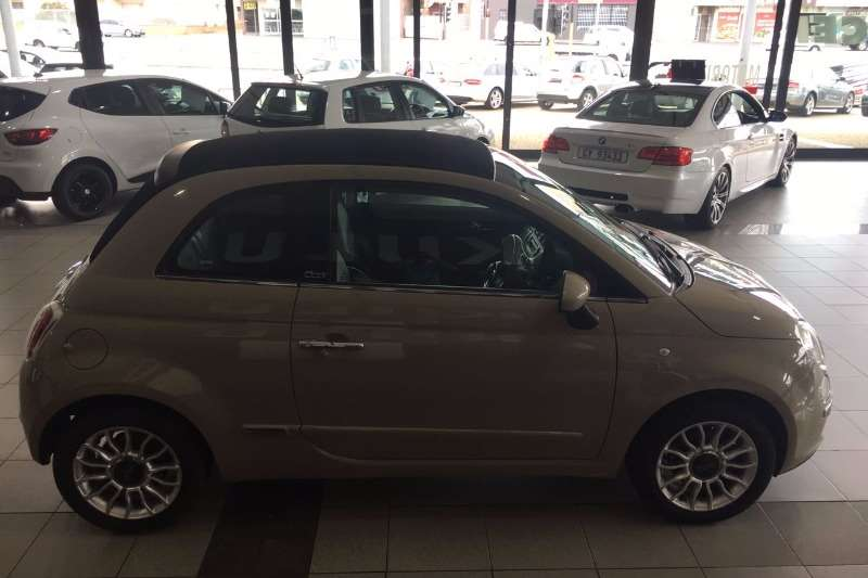 2013 fiat 500 s cabriolet 1 4 convertible petrol fwd manual cars for sale in western. Black Bedroom Furniture Sets. Home Design Ideas