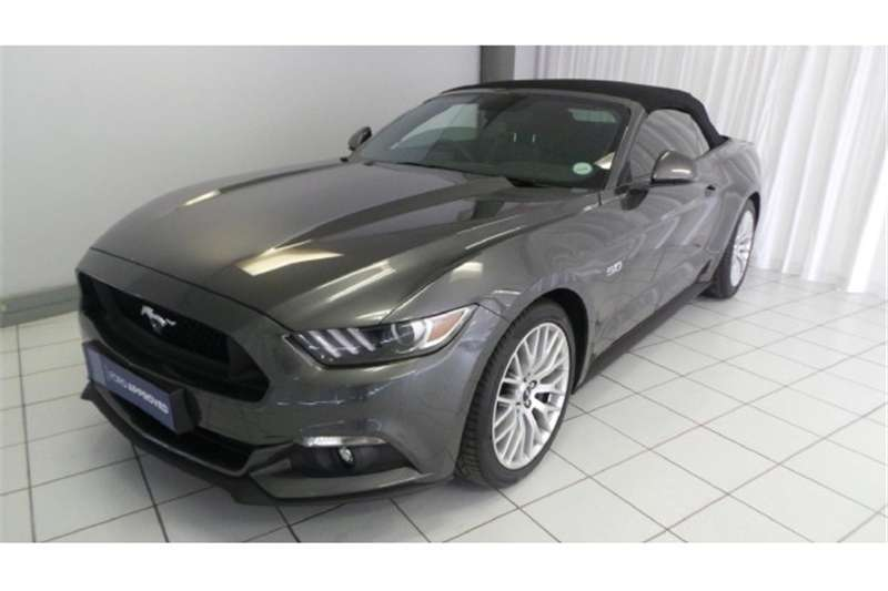 Ford Mustang 5.0 GT convertible auto 2017