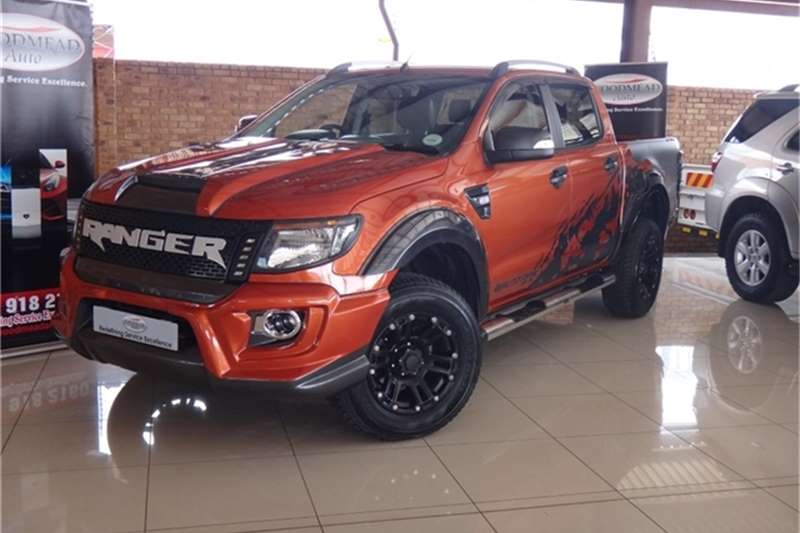 2015 ford ranger 3 2 double cab 4x4 wildtrak auto double cab bakkie diesel 4 x 4 automatic. Black Bedroom Furniture Sets. Home Design Ideas