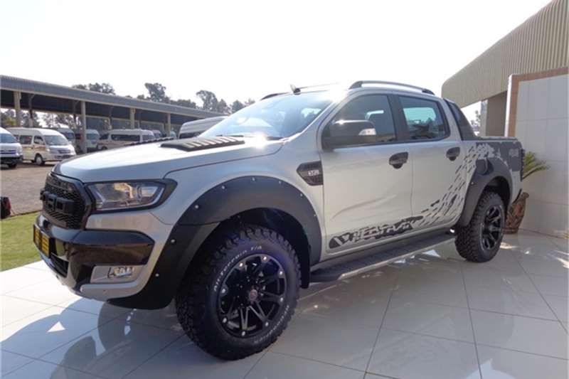 All New Ford Ranger Double Cab 4x4 Pick Up Performance Blue Pictures ...