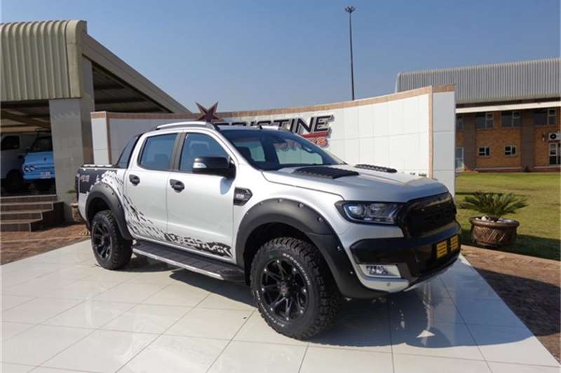 2017 ford ranger 3 2 double cab 4x4 wildtrak auto double cab bakkie diesel 4 x 4 automatic. Black Bedroom Furniture Sets. Home Design Ideas