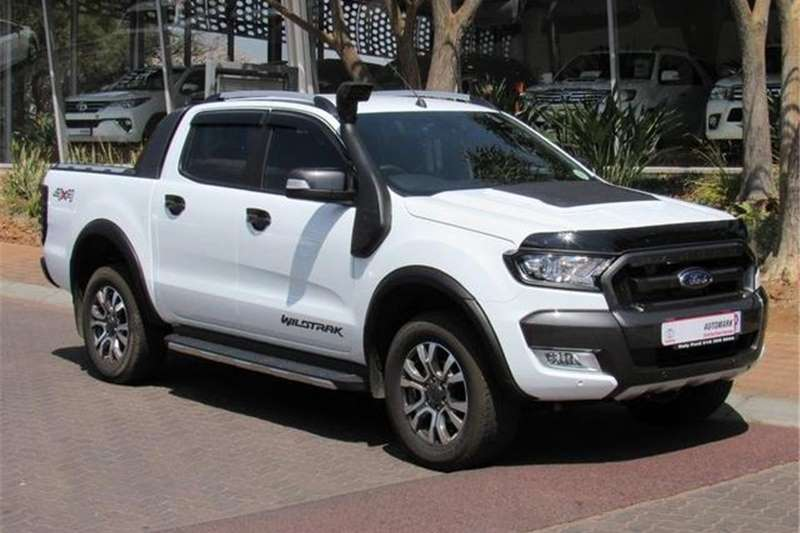 Ford Ranger 3.2 Double Cab Wildtrak Auto 2017
