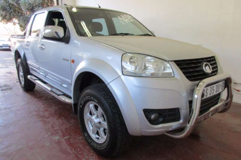 GWM Steed 5 2.5TCi double cab 4x4 Lux 2012