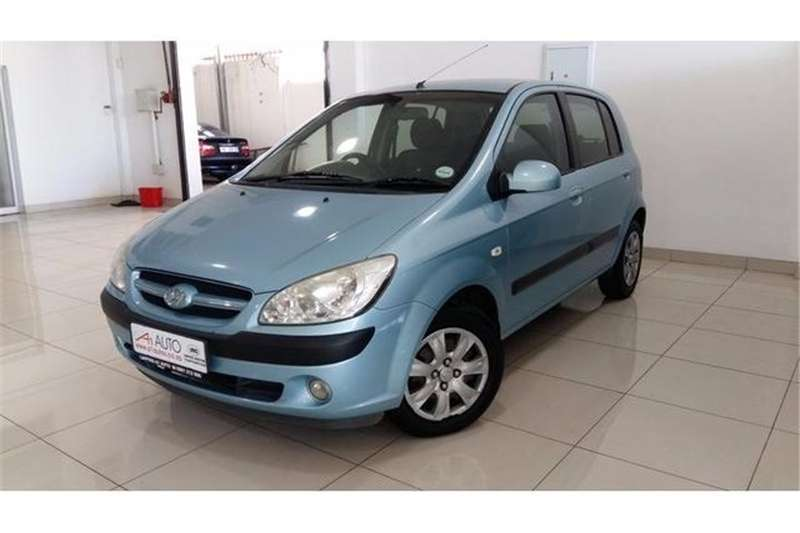 Hyundai Getz 1.4 GL high spec 2007