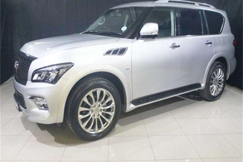 2015 infiniti qx80 5 6 crossover suv petrol awd automatic cars for sale in gauteng r. Black Bedroom Furniture Sets. Home Design Ideas