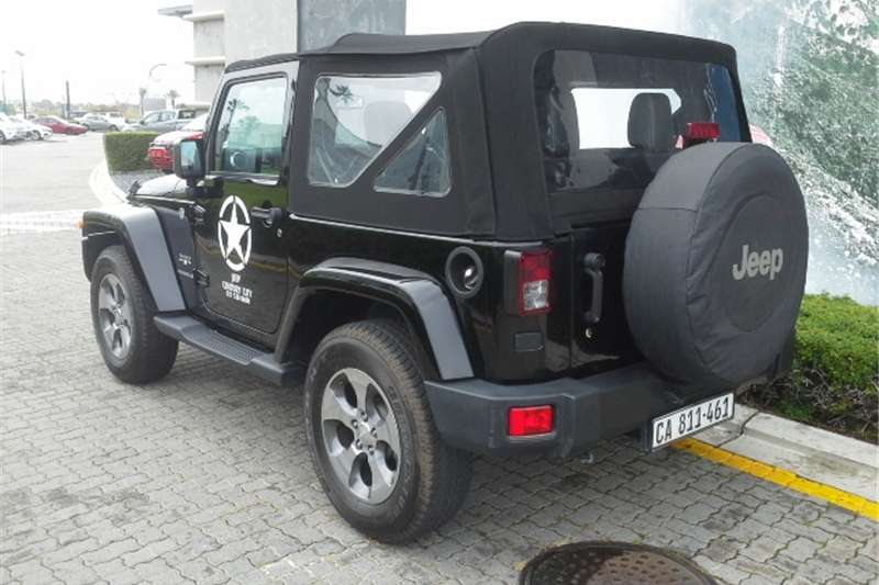 Jeep Wrangler 3.6L Sahara 2017