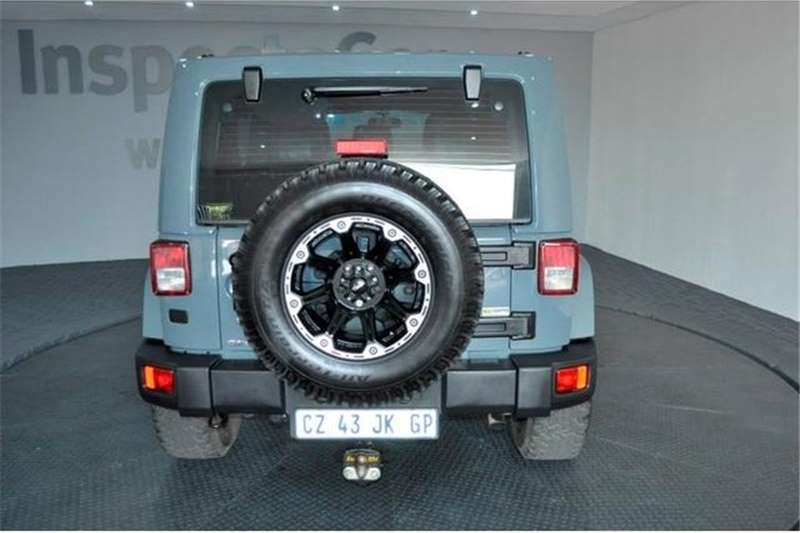 Jeep Wrangler Unlimited 2.8CRD Sahara Conservation Edition 2014