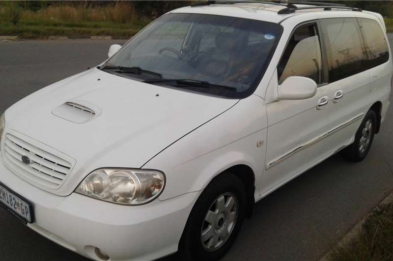 2004 kia carnival 2 9 tubo diesel cars for sale in gauteng r 55 000 on auto mart. Black Bedroom Furniture Sets. Home Design Ideas