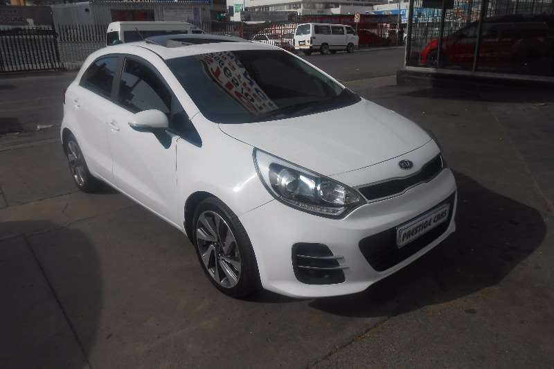 2015 kia rio 1 4 tec hatchback cars for sale in gauteng. Black Bedroom Furniture Sets. Home Design Ideas